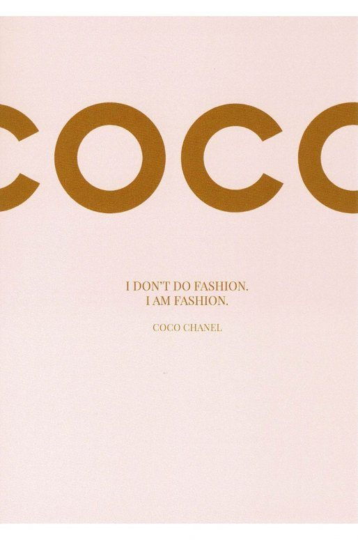 "Carte Postale ""Coco"""