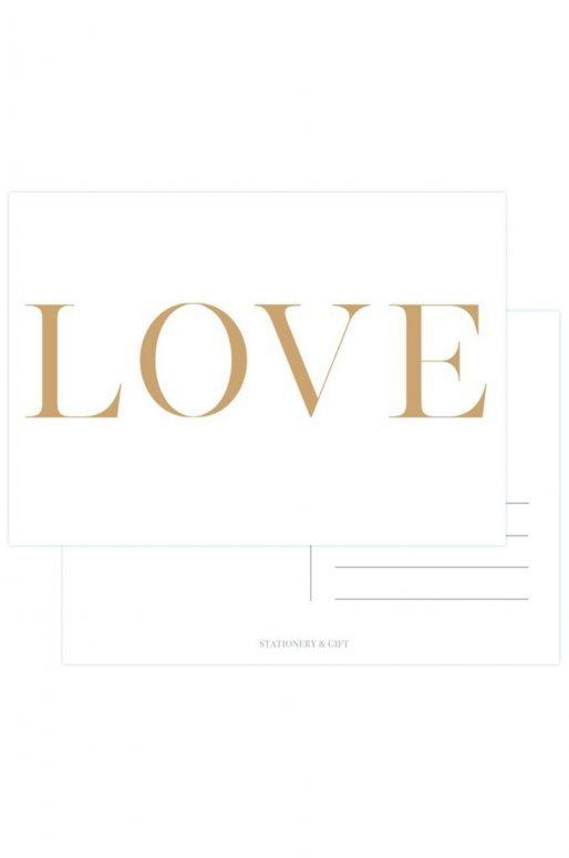 """Carte Postale """"Love"""""""