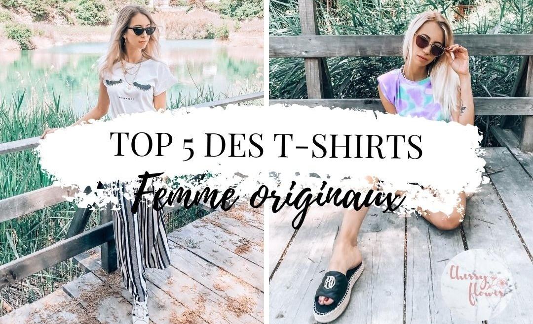 TOP 5 des T-shirts femme originaux pour un look tendance